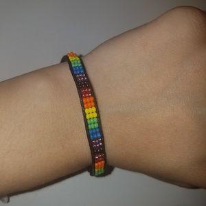 Jewelry - rainbow bracelet